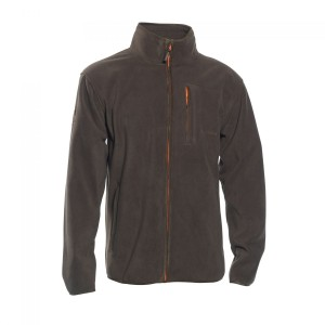 DH5513 Deerhunter Gamekeeper Bond Fleece Jacket - 669 Orange