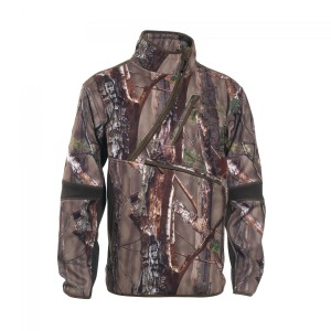 DH5514 Deerhunter Gamekeeper Bonded Fleece Anorak - 50 Innovation GH Camouflage