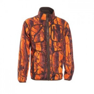 DH5526 Deerhunter Gamekeeper Reversible Fleece Jacket - 77 Innovation GH Blaze Camouflage