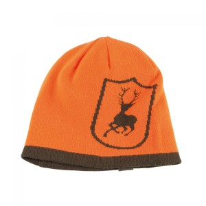 DH6748 Deerhunter Cumberland Knitted Beanie Reversible - 669 Orange