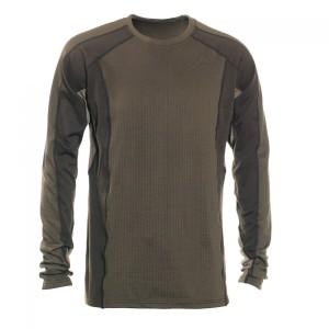 DH7555 Deerhunter Greenock Underwear Shirt with Round Neck - 381 Fallen Leaf
