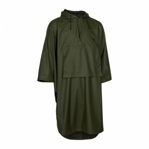 8172 Hurricane Rain Poncho - 376 Art Green