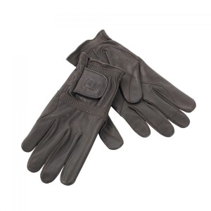 DH8339 Deerhunter Winter Gloves Leather & Wool - 551 Brown