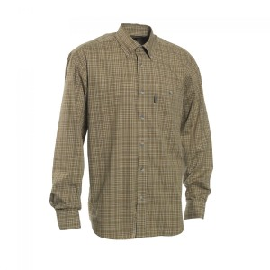 DH8467 Deerhunter Marshall Shirt - 399 Green Check