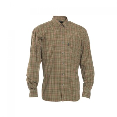 DH8467 Deerhunter Marshall Shirt - 499 Red Check
