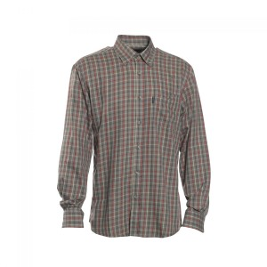 DH8468 Deerhunter Waylon Shirt - 499 Red Check