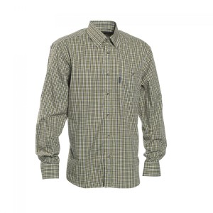 DH8469 Deerhunter Wyatt Shirt - 399 Green Check