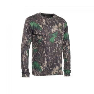 DH8475 Deerhunter Trail Camo T-Shirt Long Sleeve - 80 IN-EQ Camouflage