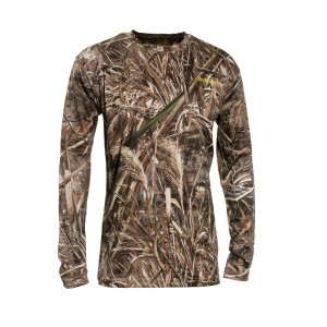 DH8475 Deerhunter Trail Camo T-Shirt Long Sleeve - 95 Realtree Max-5 Camouflage