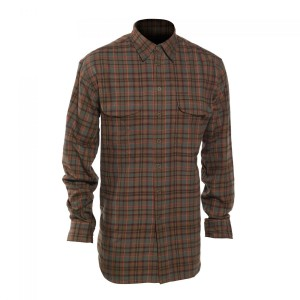 DH8674 Deerhunter Bradley Shirt with Bamboo - 499 Red Check