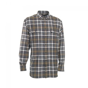 DH8678 Deerhunter Marlon Shirt Long Sleeve - 399 Green Check