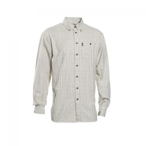 DH8679 Deerhunter WinstonShirt Long Sleeve - 399 Green Check
