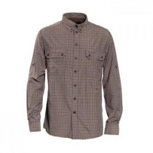 DH8826 Deerhunter Tucker Bamboo Shirt Long Sleeve - 399 Green Check