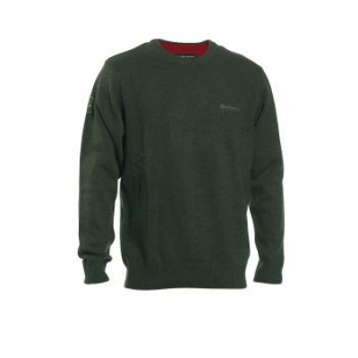 DH8840 Deerhunter Hastings Knit O-neck - 331 Green
