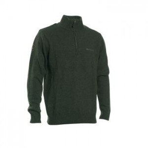 DH8842 Deerhunter Hastings Knit Zip-neck - 331 Green