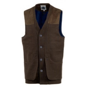 DXO 411 Deerhunter Bushwood Waistcoat - Major Brown