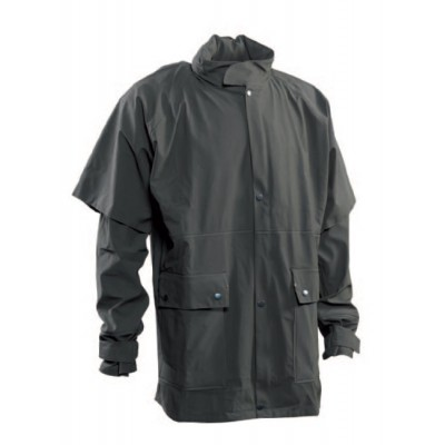DH5225 Deerhunter Greenville Rain Jacket - Green