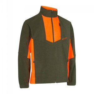 DH5493 Deerhunter Schwarzwild I Fleece Jacket-669 Orange