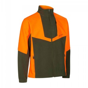 DH5495 Deerhunter Schwarzwild III Fleece Jacket -669 Orange