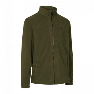 DH5761 Deerhunter Rogaland Fleece Jacket -571 Brown leaf