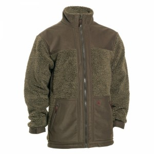 DH5960 - Retrieve Fibre Pile Jacket with Contrast - 346 Cypress Green / CLEARNACE OFFER