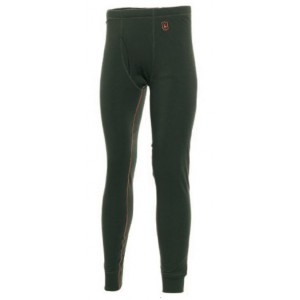 DH7112 Deerhunter Merino Wool Long Johns w. Fly - Jungle Green