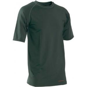 DH7620 Deerhunter Bamboo Underwear Shirt S/S - Green