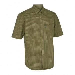 DH8095 Deerhunter Nikhil Shirt S/S - 399 Green Check