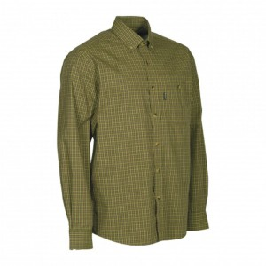 DH8495 Deerhunter Nikhil Shirt L/S -399 Green Check