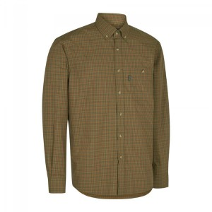 DH8495 Deerhunter Nikhil Shirt L/S -499 Red Check