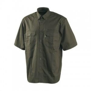 DH8574 Deerhunter Wapiti II Short Sleeve Shirt - 331 Green / ONLY ONE LEFT.