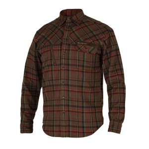 DH8617 - Rhett Shirt - Red Check