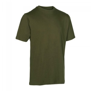 DH8651 Deerhunter T-Shirt 2-Pack -331-571 Green/Brown