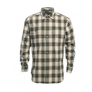 DH8665 Deerhunter Wesley Shirt - 399 Green Check