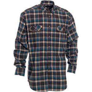 DH8723 Deerhunter Gilbert Shirt - Brown Check
