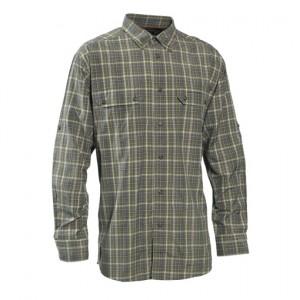 DH8823 Deerhunter Elliott Bamboo Shirt - Green Check