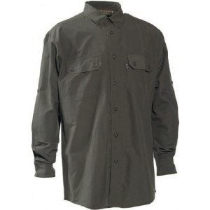 DH8825 Deerhunter Evan Bamboo Shirt - Adventure Green