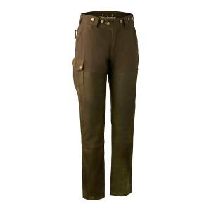 3345  Lady Paris Leather Trousers - 552 Walnut