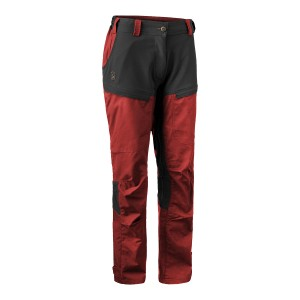 3733 Deerhunter Lady Ann Trousers - 470 Oxblood Red