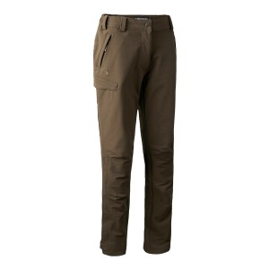 3744 Deerhunter Lady Ann Full Stretch Trousers - 381 Fallen Leaf