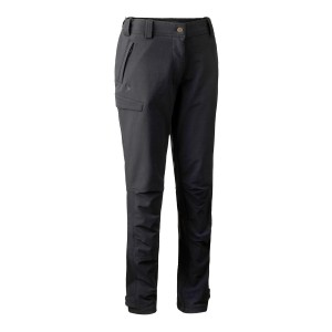 3744 Deerhunter Lady Ann Full Stretch Trousers - 999 Black