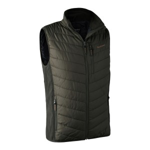 DH4571 Moor Padded Waistcoat w. Softshell - 393 DH Timber