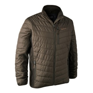 DH5571 Moor Padded Jacket w. Softshell - 393 DH Timber