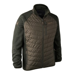 DH5572  Moor Padded Jacket w. Knit - 393 DH Timber
