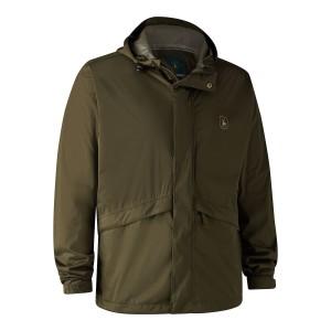 5874  Thunder Rain Jacket - 379 Tarmac Green