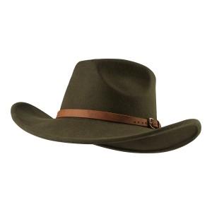 DH6512 - Ranger Felt Hat (Green).