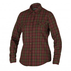 DH8067 - Lady Sophie Shirt - Red Check