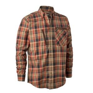 8936  Hektor Shirt  - 68936 Orange Check