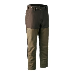 3464  Marseille Leather Mix Boot Trousers - 552 Walnut