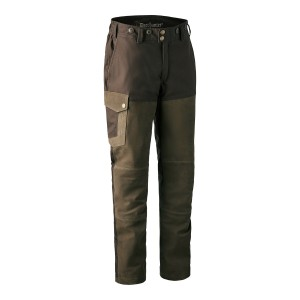 3569  Marseille Leather Trousers - 552 Walnut